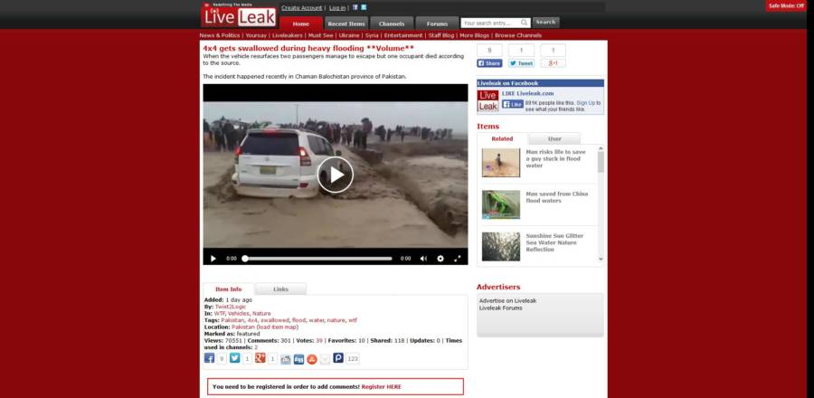 Liveleak Website
