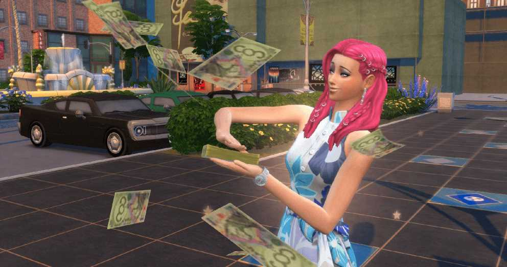 Money Cheat code for SIMS 4