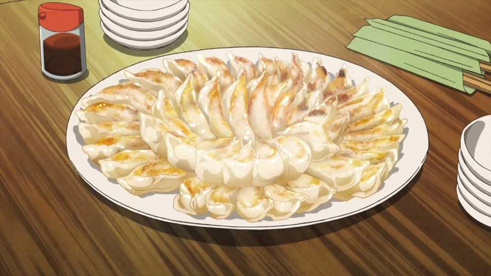 Gyoza Anime Food