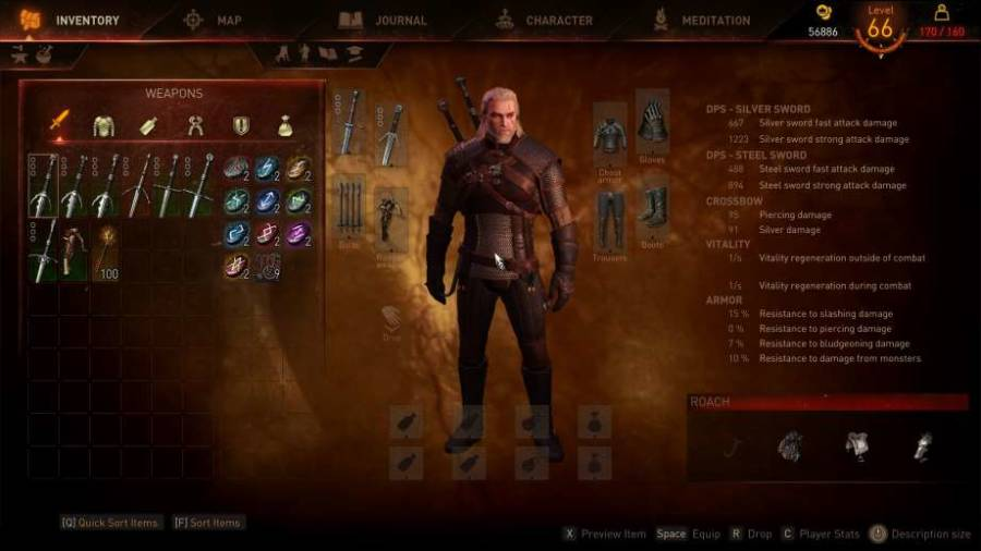 Setting Witcher 3 Mods
