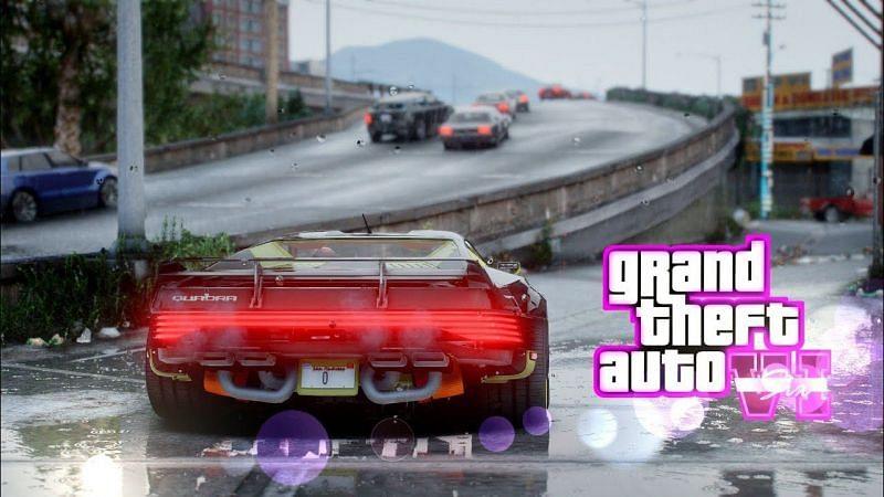 Leaked Graphics of GTA 6