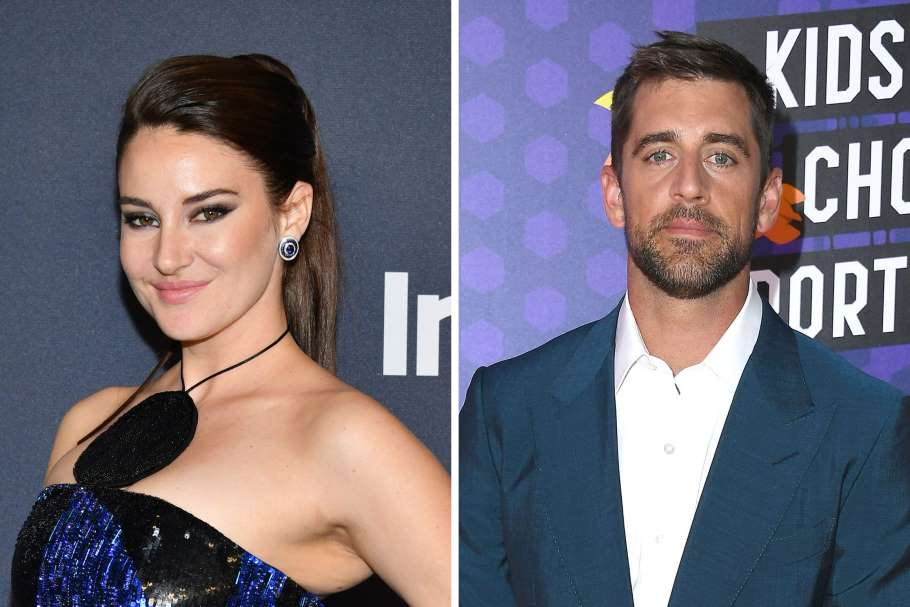 Aaron Rodgers dating with Shailene Woodley