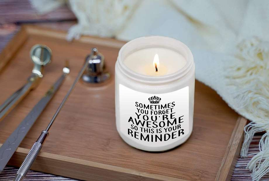 Motivational Scented Candles