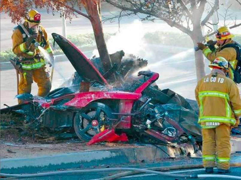 paul walker death in car accident