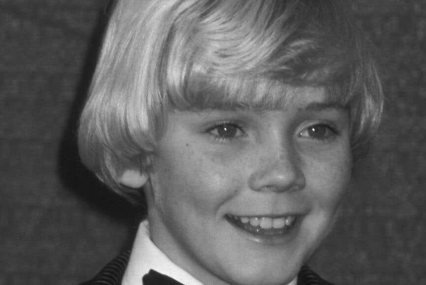 Childhood photo of Ricky Schroder