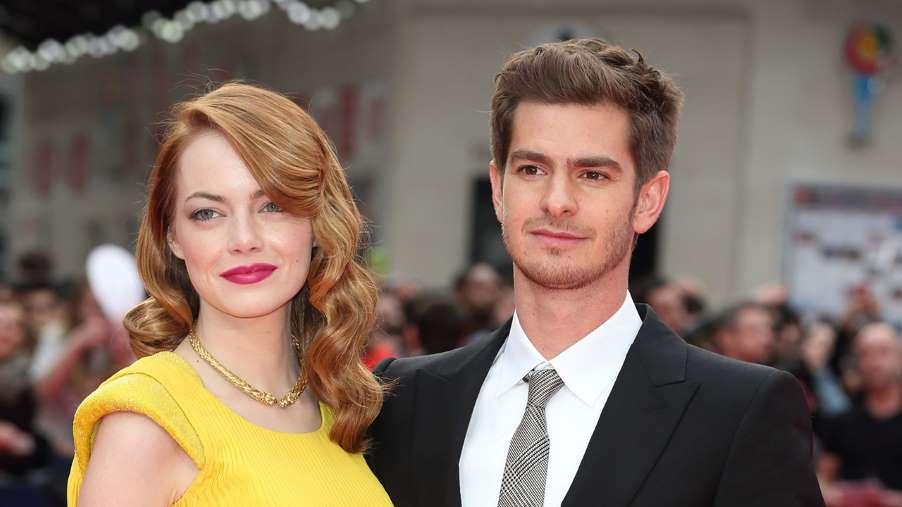 Emma with Ex Boyfriend Andrew Garfield