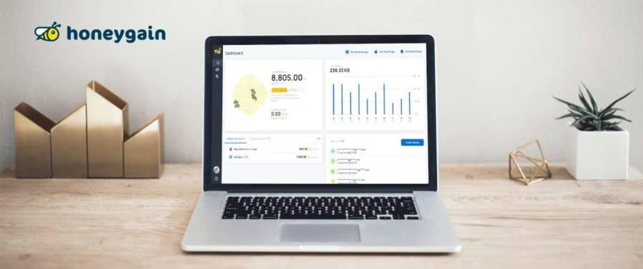 Earn Money via Honeygain frizztech