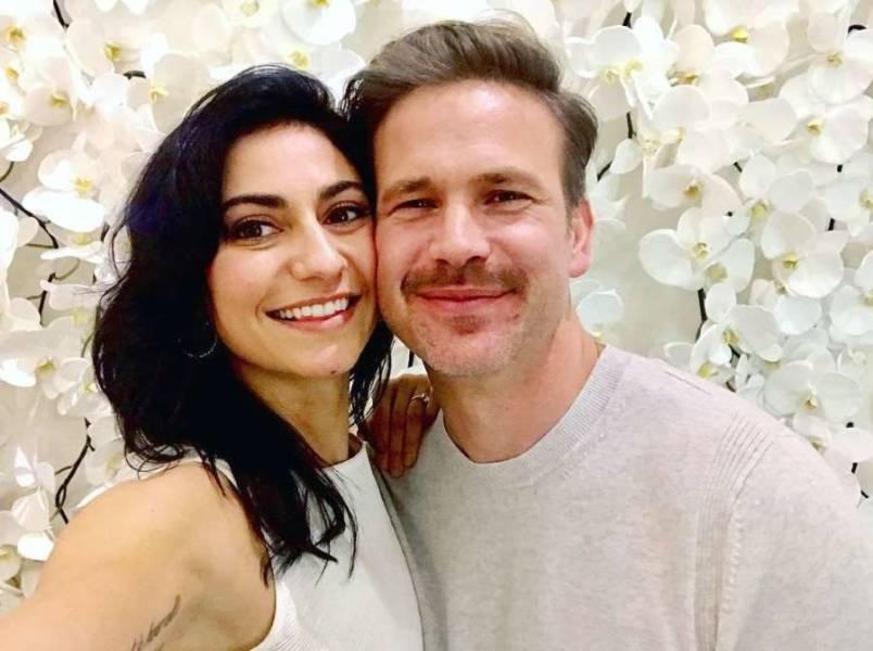 Matthew-Davis With-Wife-Kiley-Davis