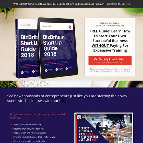 Startup finance guide funnel
