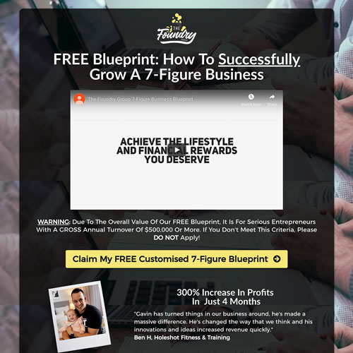 Ebook download funnel example