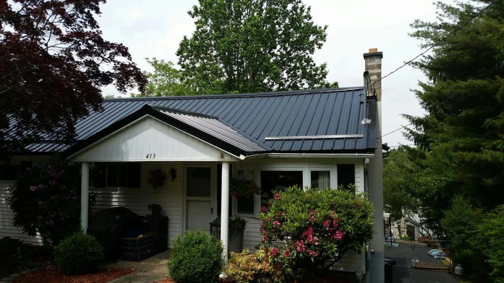 Before And After Metal Roof Installation