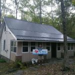 October Metal Roof Installations Garvin Metal Roofing NEPA