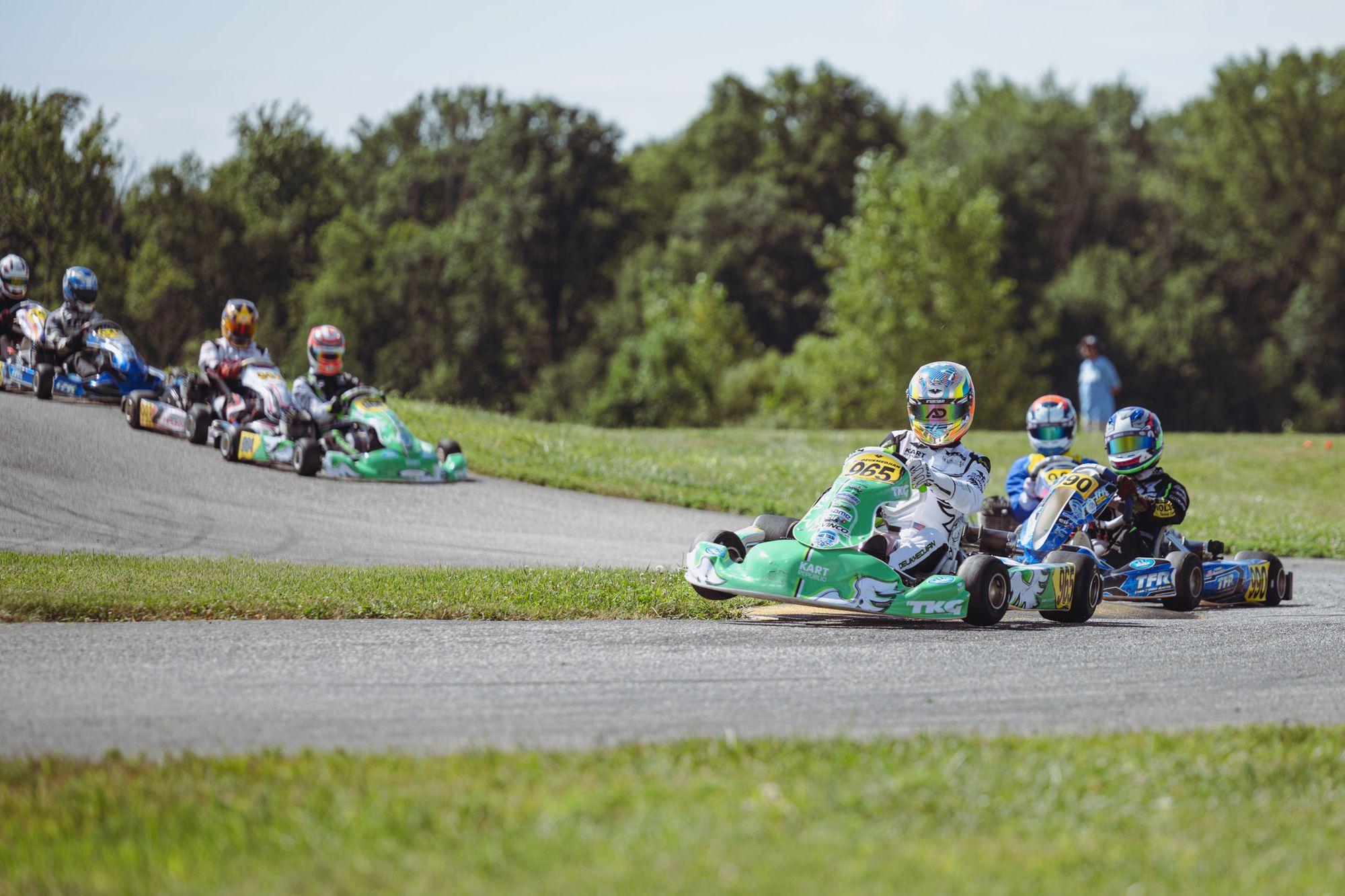 SKUSA at New Castle Motorsports Park