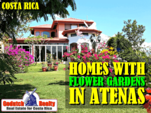 Homes with a flower garden in Atenas