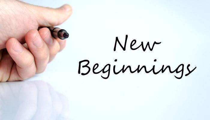 Starting over…