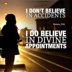 Divine appointments are God's faithfulness in action