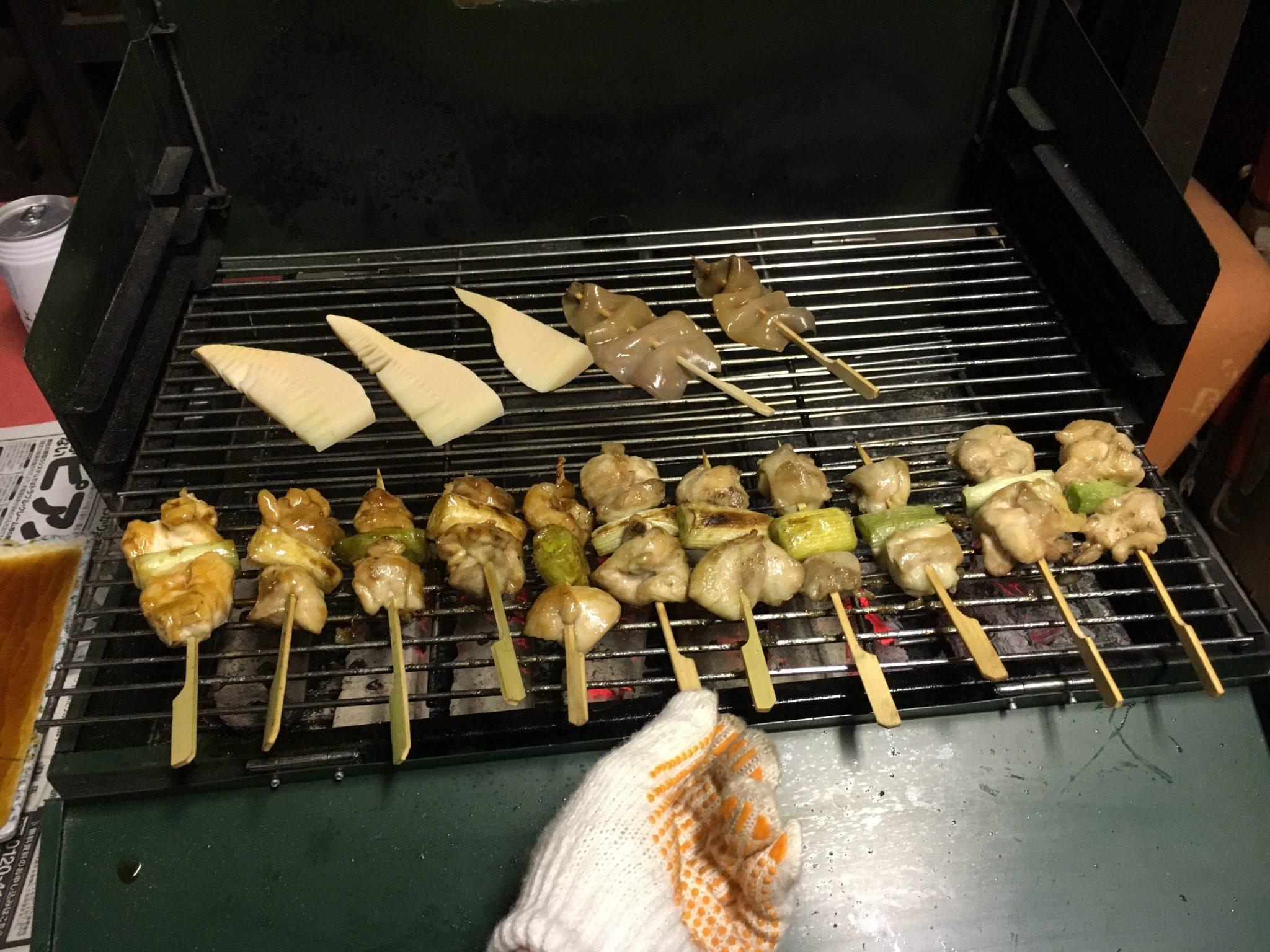 Yakitori party