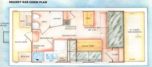 Houseboat plan