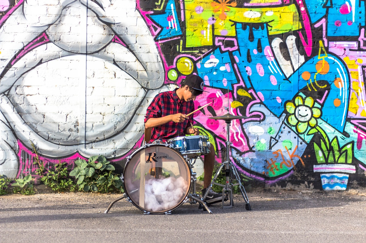 Drummers and DJs