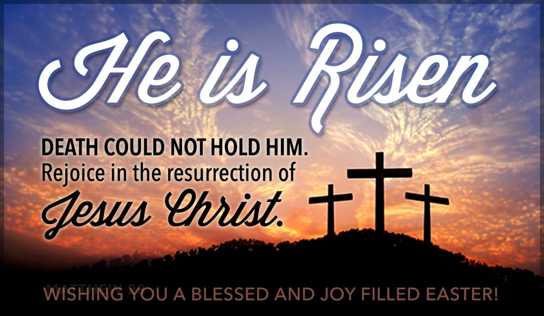 April 21, 2019 – A revered & blessed Easter Sunday to all the faithful