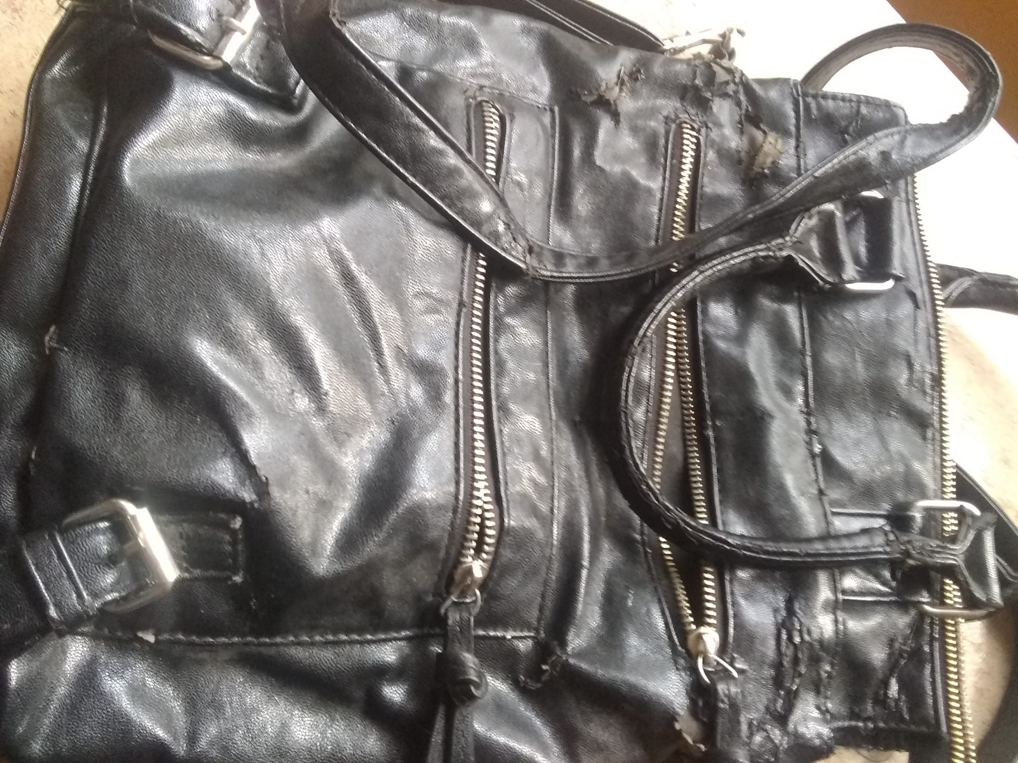 Jun14 safe, purse, garlic oil