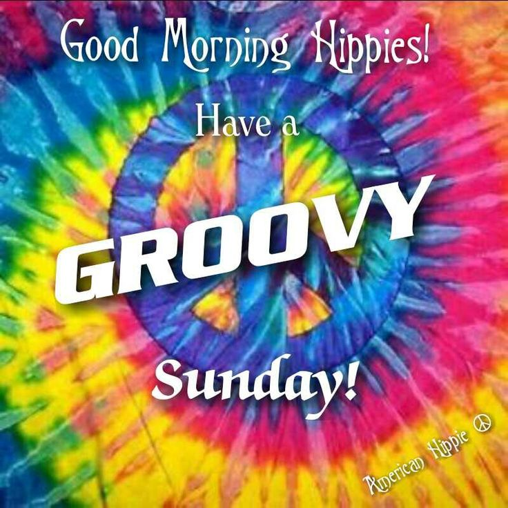 June 16, 2019 – Let's make it a peaceful and groovy Sunday