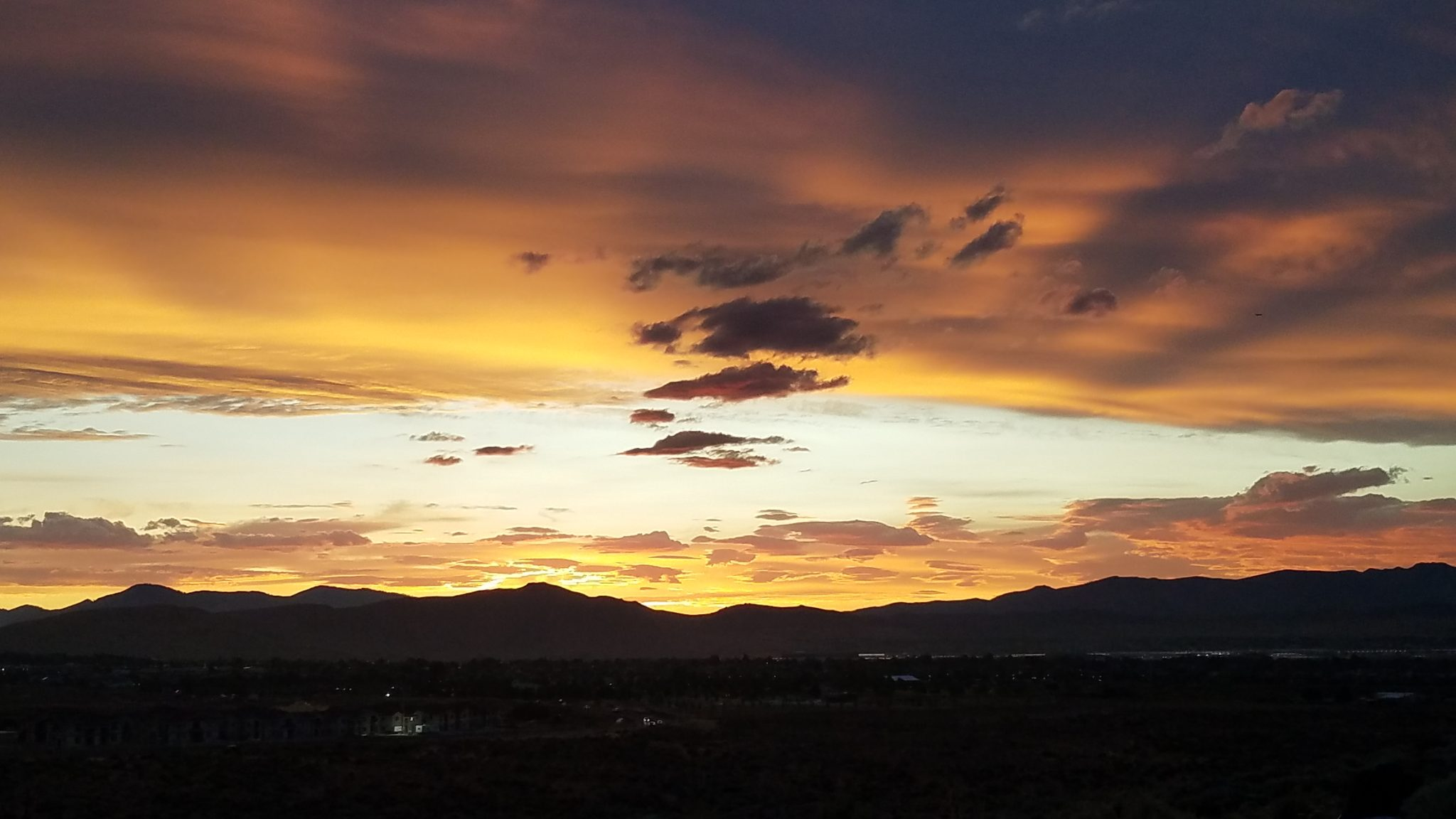 This sunset moved me so much….