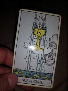 the ace of cups tarot