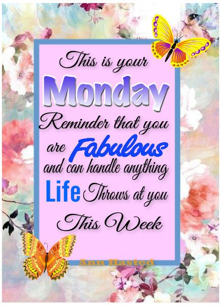 Sept. 16, 2019 – Rise 'n shine for a marvelous Monday and new week