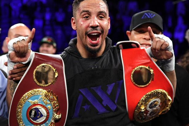 The 34-year old son of father Frank Ward and mother Madeline Arvie Andre Ward in 2018 photo. Andre Ward earned a  million dollar salary - leaving the net worth at 8 million in 2018