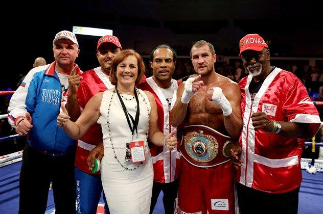 ringside boxing show the day kathy duva located arturo gatti under