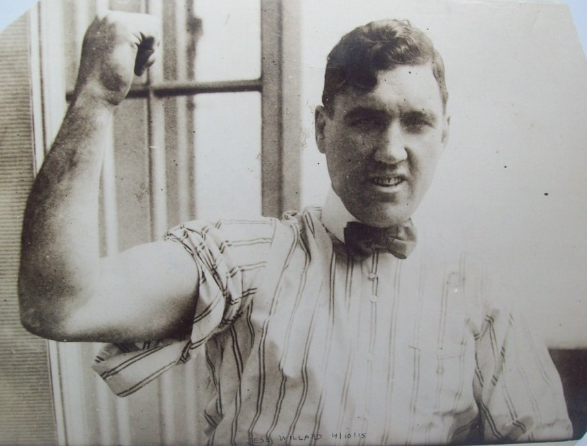 Boxing Clever Jess Willard 100000 And A Farm In Kansas The