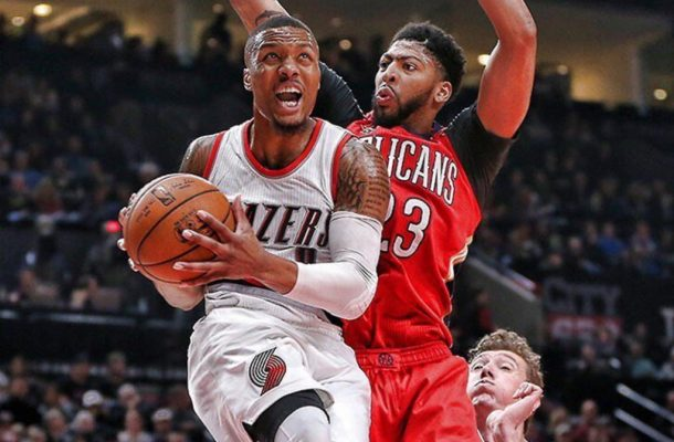 Pelicans Vs Trail Blazers Detail: 2018 NBA Playoffs First Round New Orleans Pelicans Vs
