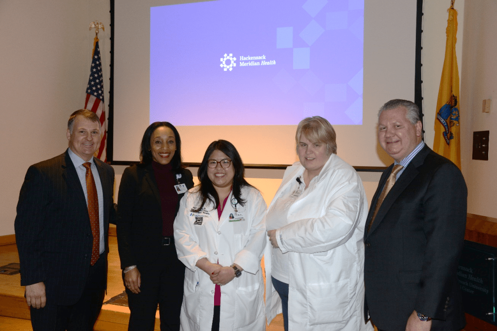 April Camiling Honored With Excellence In Nursing Award From Modern