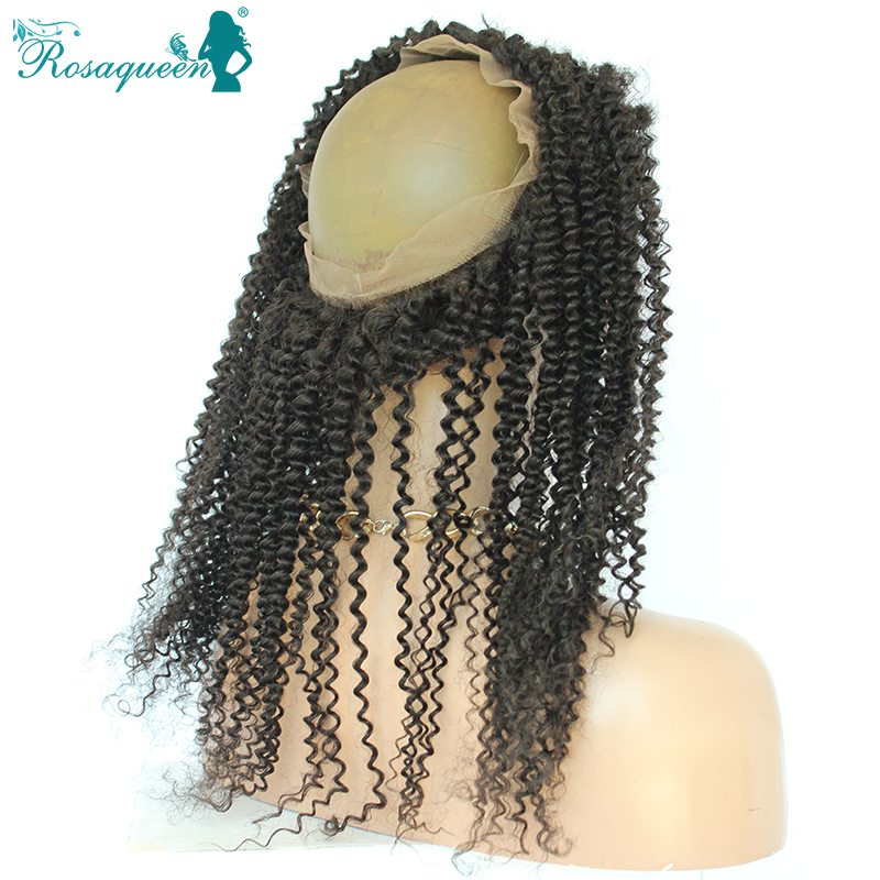 Brazilian 360 Full Lace Band Frontal Closure Baby Hair Deals