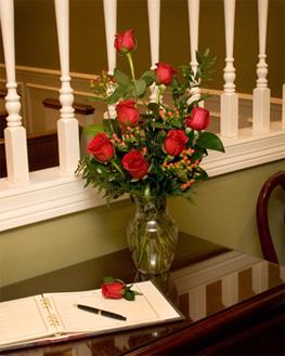 memorial roses