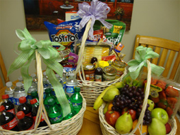 food and beverage basket