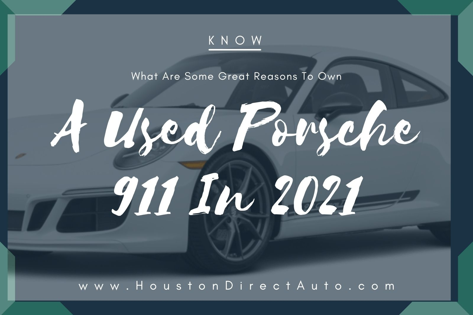 Used Porsche For Sale In Houston TX