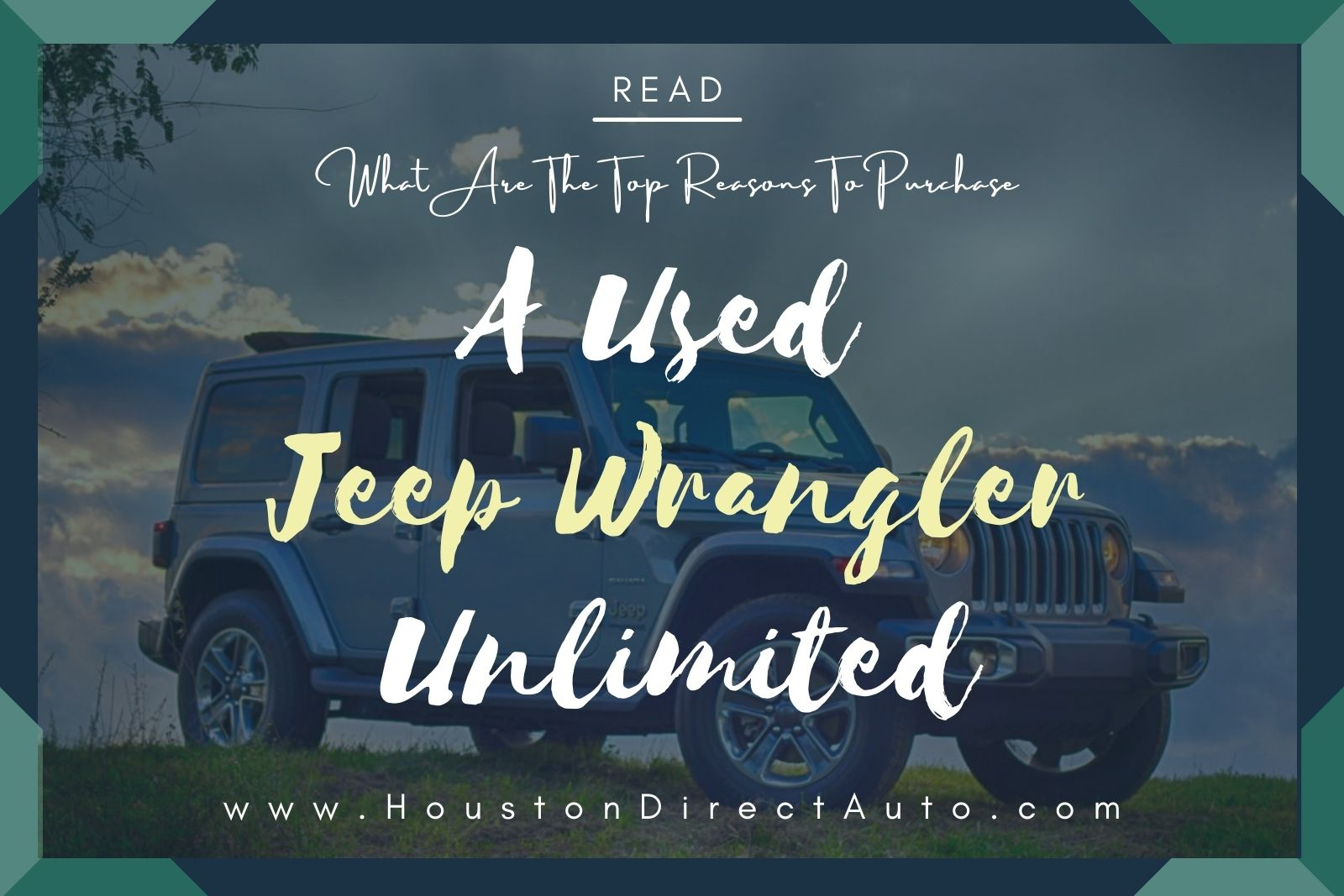 Pre Owned Jeeps For Sale In Houston TX