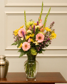 spring medley vase