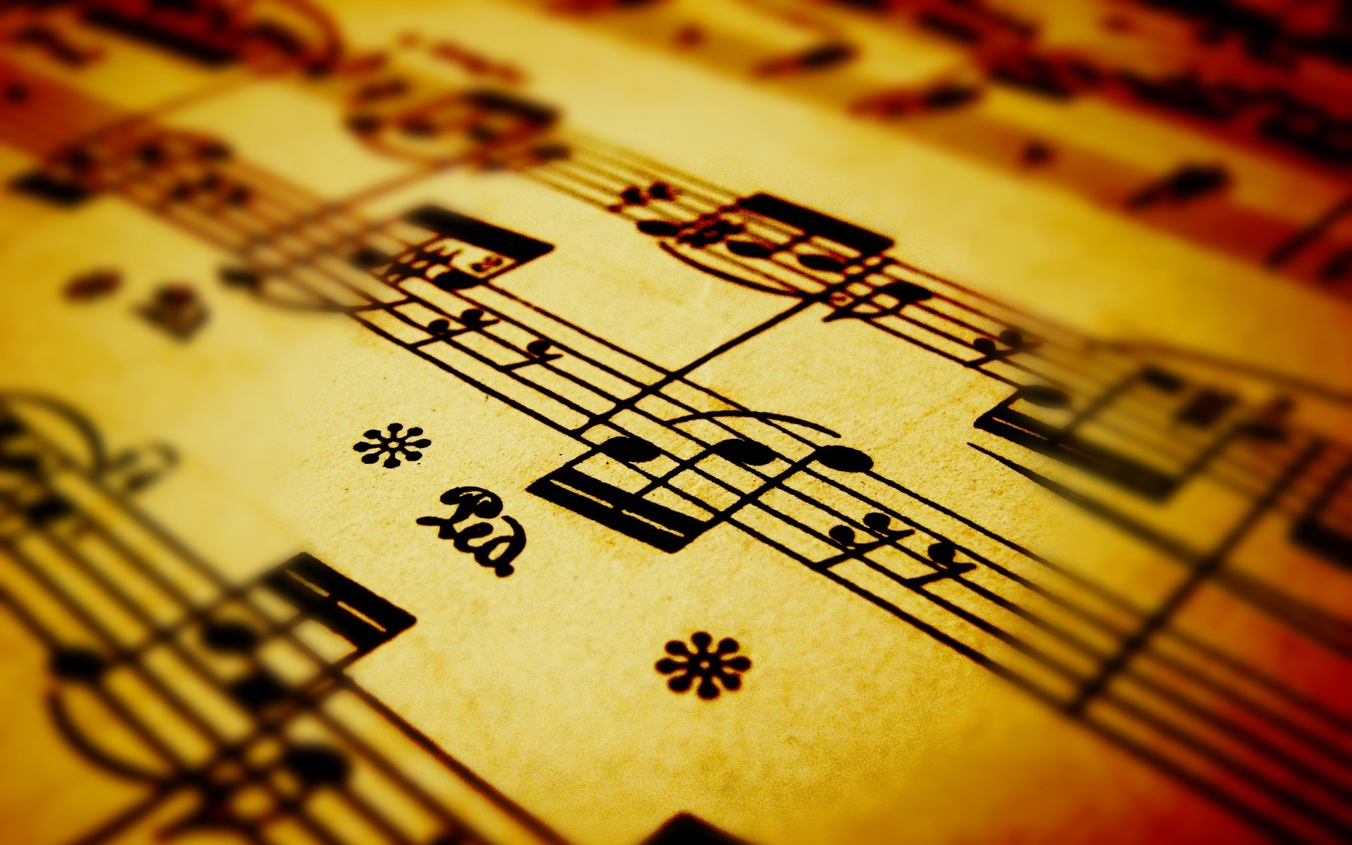 Awesome Music Notes Wallpapers