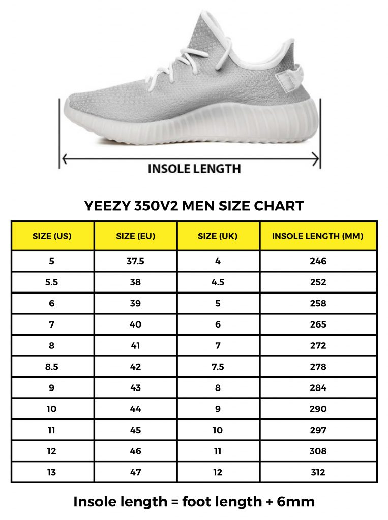 yeezy boost 350 kid size chart Shop