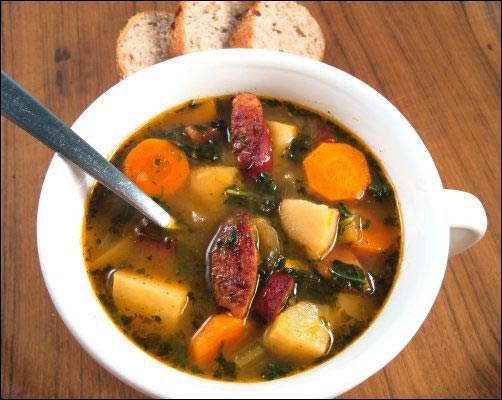 Harvest Stew with Smoked Sausage recipe