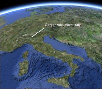 Gorgonzola map, Guide to Gorgonzola, how to make blue cheese, homesteading