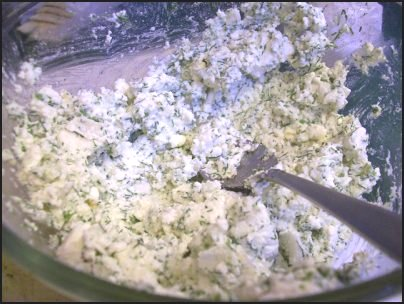 homemade cheese spread