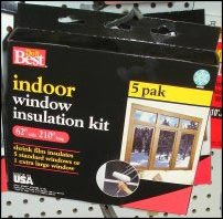 window insulation kit, Home Winterization Anyone Can Tackle
