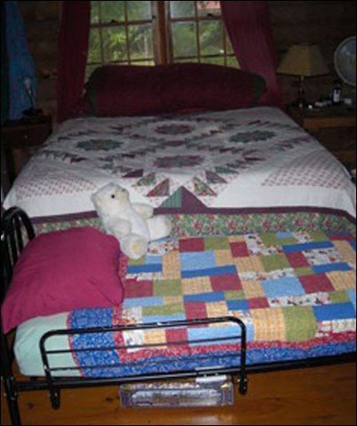 cabin trundle bed