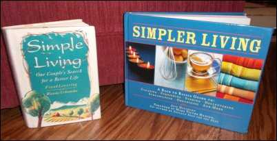 simple living books de-clutter clutter