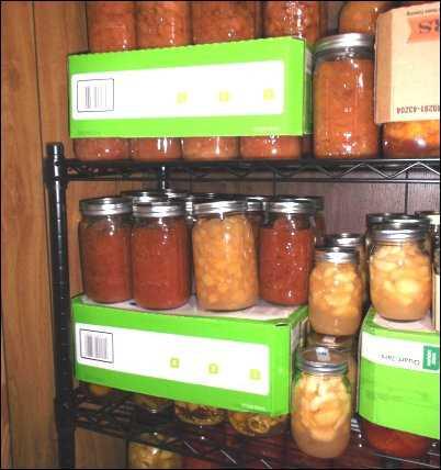 canning jars de-clutter clutter