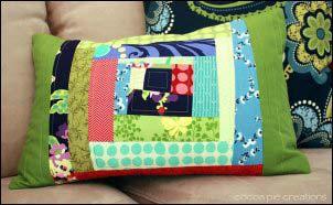 Quilt patterns Wonky Log Cabin